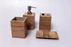 Marble Stone Bathroom Set
