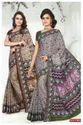 Mixcolours Cotton Printed Saree