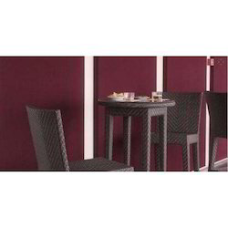 Wicker Bar Table & Chair Set