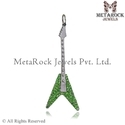 Chrome Deopside Guitar Charms