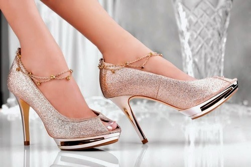 c641bc05dea Glittering High Heels Sandal at Rs 3000  pair(s)