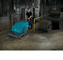 Tennant S10 Industrial Strength Walk Behind Sweeper