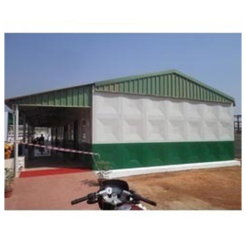 Mild Steel Prefabricated Engineer Guest House