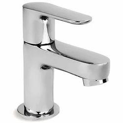 Lever Handle Pillar Lavatory Faucet