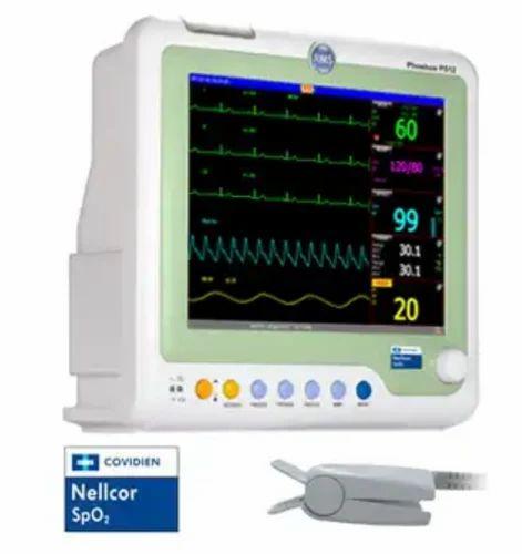 Pulse Rate 10-270mmHg Multipara Monitor Nellcor SPO2   ID