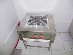 Self Stainless Steel Gas Stoves, Model No.: 001, Size: 62062060