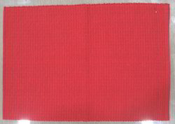 Red Ribbed Placemat