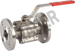 Flanged End SS Ball Valve