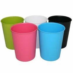 Plastic Blue Waste Paper Dustbin