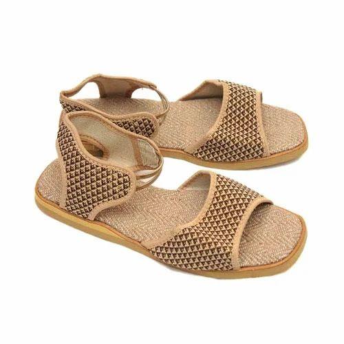 retail prices good latest design Women Ladies Designer Sandal Jute, Rs 250 /pair, Sandip ...