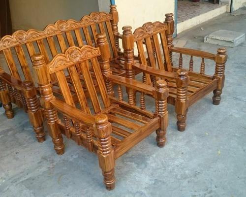 Wooden Sofa Set Elephant Leg Teak Sofa Set Manufacturer