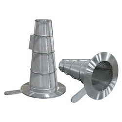 Temporary Conical Strainers