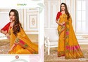 Rajguru Pure Silk Bridal Saree