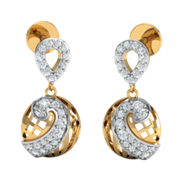 Gold Diamonds 14K Earrings