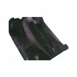 Black Plain Synthetic Rubber Car Floor Mat, 1-2 Mm