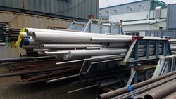 Seamless, Welded Super Duplex Steel UNS S31803 Pipes