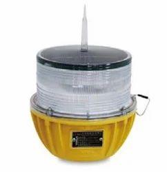 LED Blue Solar Aviation Obstruction Light, IP Rating: IP65