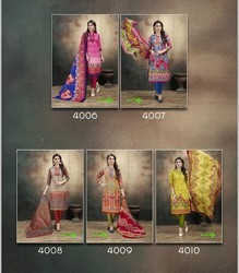 Dabu Kashish Print Dress Material