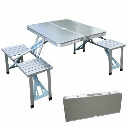 Charmant Portable Aluminum Table Multi Function Uses