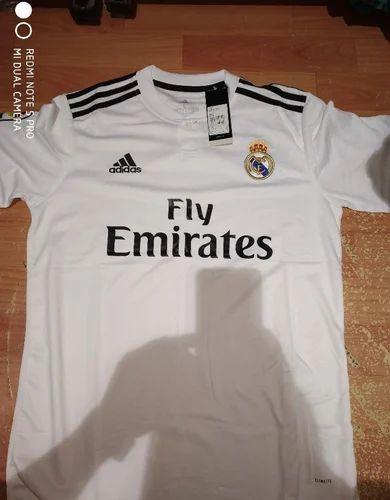 Adidas White Football Jersey, Rs 700 /piece Jersey Boys Garments ...