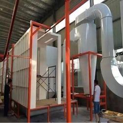Manual Conveyorised Powder Coating Plant