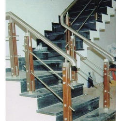 Cable Wooden Steel Railing