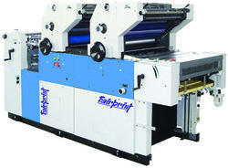 Double Color Carry Bag Printing Machine
