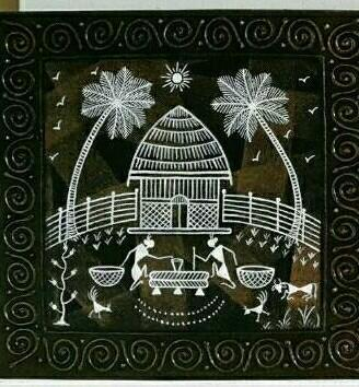 Warli painting at rs 2700 piece aspire enterprises dhule id warli painting altavistaventures Image collections