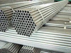 Silver Steel Scaffolding Pipe