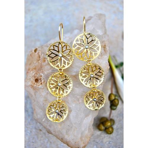 Filigree Gold Earrings