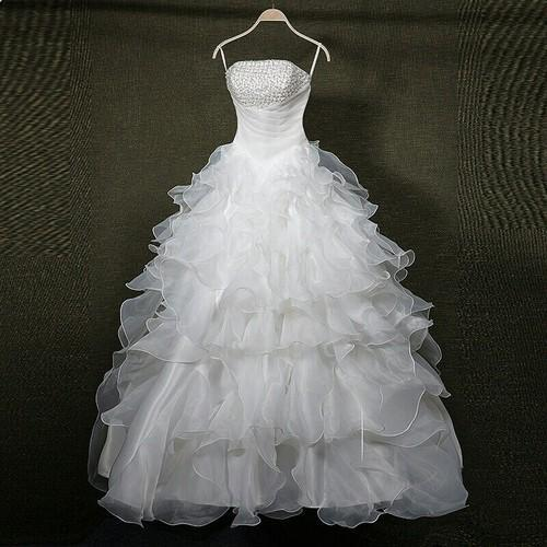M/s Shirley - Wholesaler of Bridal Gown & Organza Wedding Gown from ...