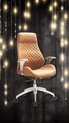Cobra High Back Revolving Chair
