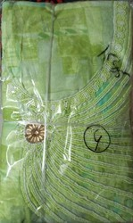 Green Silk Suiting Fabric