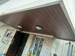 Wooden looking false ceiling