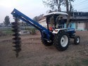Tractor Mounted Hole Digger Machine
