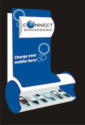 Promotional Back-lit Mobile Charging Station