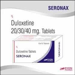 Duloxetine Tablets 20/30/40/60 mg (SERONAX)