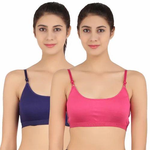 23aff211aa T-Shirt Bra Viscose Blend Fabric. Teenagers Bra