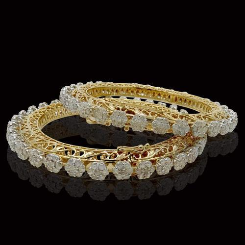 3731b16031fee3 Designer Diamond Bangle at Rs 150000 /piece(s) | Diamond Bangles ...