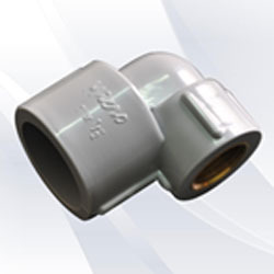 Plumbing Pipe Gray Micro Plastic Elbow
