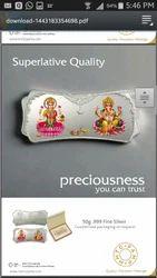 Lakshmi Silver Coin Lakshmi Chandi Ka Sikka Suppliers