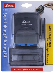 Shiny S-884 Self Inking Printing Kit
