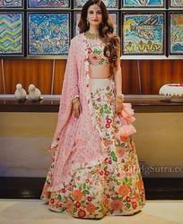 Embroidery Long Choli Lehenga
