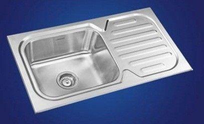 Neelkanth Kitchen Sinks, Gloss Finish, NK SBSD23 G/M - Atlantic Tile ...