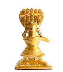 Gold Shiva Lingam