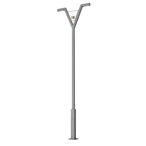 Sleek Polar Lighting Poles Street Flood And Commercial