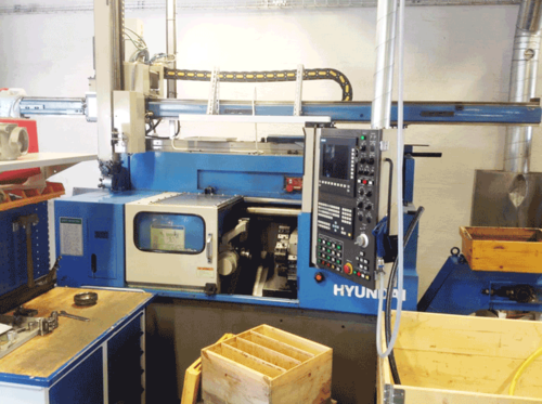 Used CNC Machine (TC Hyundai Siemens 840D)