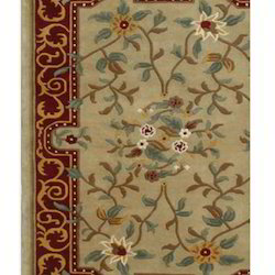 Fab Export International Rectangular Nepalese Hand Knotted Carpet