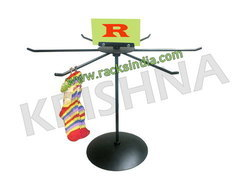 Table Top Revolving Stand For Socks