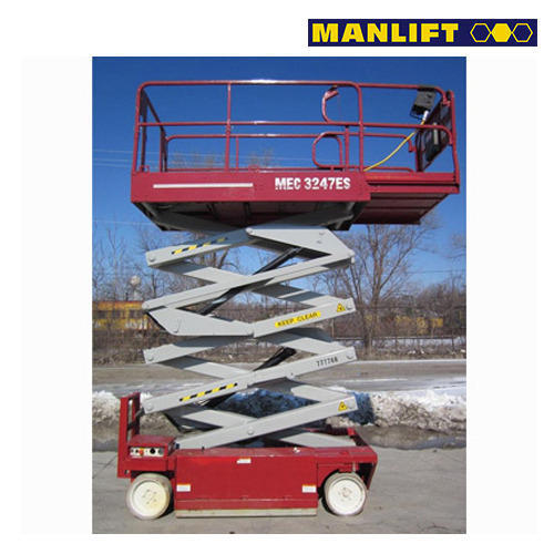 es scissor lift mec 3247 es elevators escalators manlift india rh indiamart com Mec Lift Wheel Mec Lift Wheel
